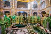 В Почаевской лавре прошли торжества по случаю дня памяти преподобного Иова, игумена Почаевского