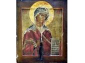 В Зосимову пустынь Александровской епархии возвращен образ Божией Матери, пожертвованный обители в 1911 году