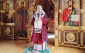 В день Усекновения главы Иоанна Предтечи Святейший Патриарх Кирилл совершил Литургию в Александро-Невском скиту