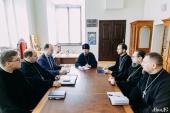 Патріарший екзарх всієї Білорусі відвідав Мінської духовної семінарії