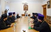 Святейший Патриарх Кирилл посетил Отдел внешних церковных связей
