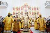 В Неделю 14-ю по Пятидесятнице Святейший Патриарх Кирилл освятил Введенский храм в Вешняках г. Москвы