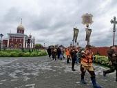 В Екатеринбургской митрополии проходит Симеоновский крестный ход