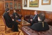 Председатель Отдела внешних церковных связей провел рабочую встречу с новоназначенным послом России в Словакии