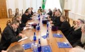 Патриарший экзарх всея Беларуси возглавил совещание благочинных и духовников Минской и Борисовской епархий