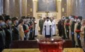В Санкт-Петербурге молитвенно почтили память М.И. Кутузова в день 275-летия со дня его рождения