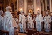 Глава Кубанской митрополии совершил панихиду на 40-й день после кончины митрополита Исидора (Кириченко)