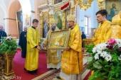 Патриарший экзарх всея Беларуси посетил Новогрудскую епархию