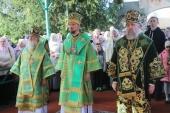 Патриарший экзарх всея Беларуси возглавил торжества, посвященные памяти преподобномученика Афанасия Брестского