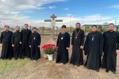 В праздник Собора новомучеников и исповедников Казахстанских митрополит Астанайский Александр совершил Литургию в Успенском соборе Нур-Султана