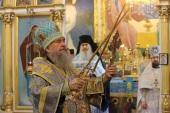 В праздник Рождества Пресвятой Богородицы митрополит Астанайский Александр совершил Литургию в старейшем храме Нур-Султана