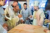 Патриарший экзарх всея Беларуси освятил храм преподобного Серафима Саровского в агрогородке Замосточье Минской области