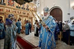 В праздник Рождества Пресвятой Богородицы Святейший Патриарх Кирилл совершил великое освящение Илиинского храма в Северном Бутове г. Москвы