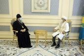 В Нур-Султане состоялась встреча митрополита Астанайского Александра с верховным муфтием Республики Казахстан