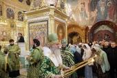 В Иосифо-Волоцком ставропигиальном монастыре прошли торжества по случаю 505-летия преставления святого основателя обители