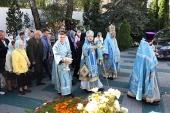 Патриарший экзарх всея Беларуси возглавил престольные торжества гродненского Рождество-Богородичного монастыря