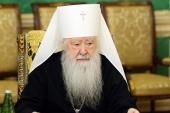 Митрополит Крутицкий и Коломенский Ювеналий награжден орденом «За заслуги перед Отечеством» I степени