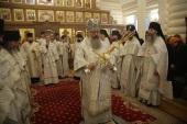 В Екатеринбургской епархии прошли торжества по случаю 20-летия основания монастыря Царственных страстотерпцев на Ганиной Яме