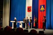 Глава Брянской митрополии выступил на церемонии инаугурации губернатора Брянской области Александра Богомаза