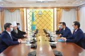 Митрополит Астанайский Александр и спикер Сената Парламента Республики Казахстан обсудили вопросы укрепления межконфессионального согласия в стране
