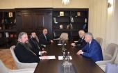 Управляющий делами Московской Патриархии провел встречу, посвященную подготовке к празднованию 1100-летия крещения Алании
