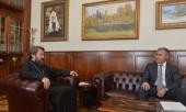 Митрополит Волоколамский Иларион встретился с министром науки и высшего образования Российской Федерации В.Н. Фальковым