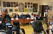 В Киево-Печерской лавре состоялась пресс-конференция участников Международного форума «Люди мира»