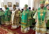 В Николаевском Верхотурском монастыре Екатеринбургской епархии состоялись торжества по случаю дня памяти праведного Симеона Верхотурского
