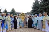 В Зимненской обители на Волыни молитвенно почтили Святогорский Зимненский чудотворный образ Пресвятой Богородицы