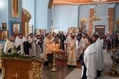 Митрополит Изюмский Елисей совершил панихиду по погибшим в авиакатастрофе под Харьковом