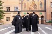 Управляющий делами Московской Патриархии и председатель Финансово-хозяйственного управления посетили предприятие «Софрино»