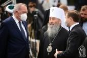 Предстоятель Украинской Православной Церкви почтил память жертв трагедии в Бабьем Яру