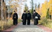 Члены коллегии Синодального отдела по монастырям и монашеству посетили Ханты-Мансийскую епархию
