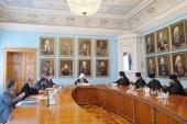 Состоялось заседание совета Санкт-Петербургской епархии по теологическому образованию