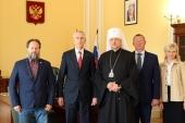 Председатель Патриаршей комиссии по вопросам физической культуры и спорта встретился с министром спорта России