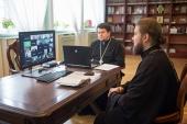 В Общецерковной аспирантуре завершился онлайн-семинар «Эффективная организация работы епархиального отдела по взаимодействию с казачеством»