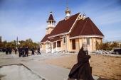 В Ахтубинском гарнизоне освящен храм в честь великомученика Георгия Победоносца