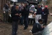 Красноярская епархия получила продуктовую помощь от Синодального отдела по благотворительности для кормления бездомных