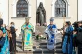 Митрополит Минский Вениамин возглавил церковные торжества в Жировичском монастыре