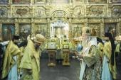 В Донском ставропигиальном монастыре почтили память святителя Тихона, Патриарха Московского и всея России
