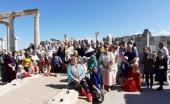 В день памяти апостола и евангелиста Иоанна Богослова на месте его погребения близ Эфеса была совершена Божественная литургия