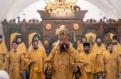 В Российском православном университете прошли торжества по случаю 10-летия передачи общине вуза столичного храма апостола Иоанна Богослова на Новой площади