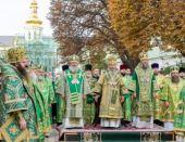 Предстоятель Украинской Православной Церкви возглавил праздничное богослужение в Киево-Печерской лавре в день Собора преподобных Ближних пещер
