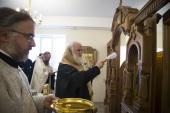 Глава Ярославской митрополии освятил храм при Областной клинической больнице