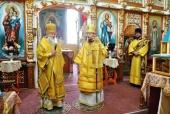 Патриарший экзарх всея Беларуси посетил Могилевскую епархию