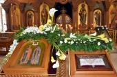 Праздник обретения мощей святителя Иоанна (Максимовича) отметили на московском подворье Православной Церкви в Америке