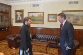 Митрополит Волоколамский Иларион провел встречу с послом Германии в России