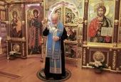 В канун праздника Покрова Пресвятой Богородицы Святейший Патриарх Кирилл совершил всенощное бдение в Александро-Невском скиту