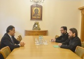 Председатель Отдела внешних церковных связей встретился с послом Ливана