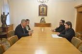 Митрополит Волоколамский Иларион провел встречу с послом Сербии в России